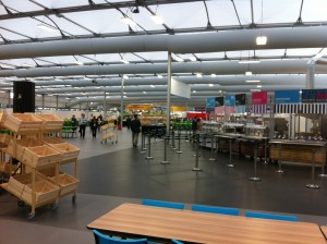 Athletes Village canteen